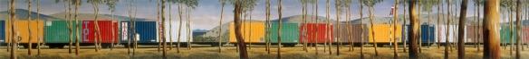 Smart-Container Train